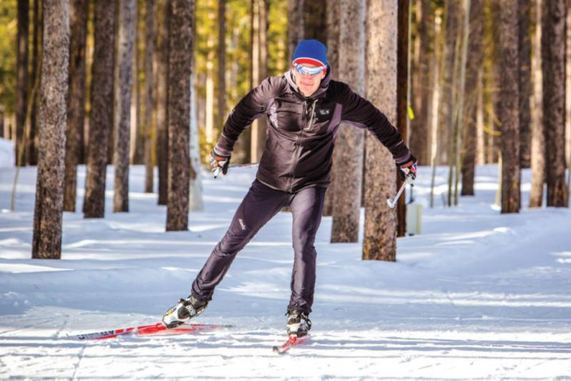 glide and explore Wyoming's pristine winter wonderland for hours on Casper Mountain, a cross-country skiers paradise.