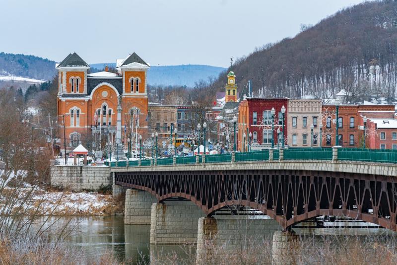Owego NY - Winter Holiday Image