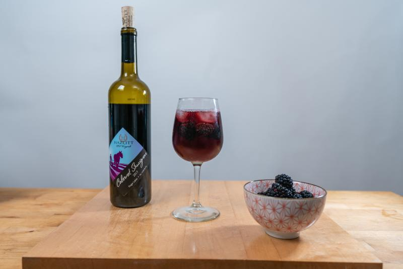 Finger Lakes Red Wine Spritzer
