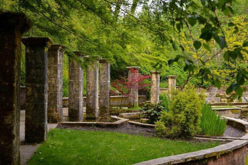 Belknap Hot Springs Secret Garden by Melanie Griffin