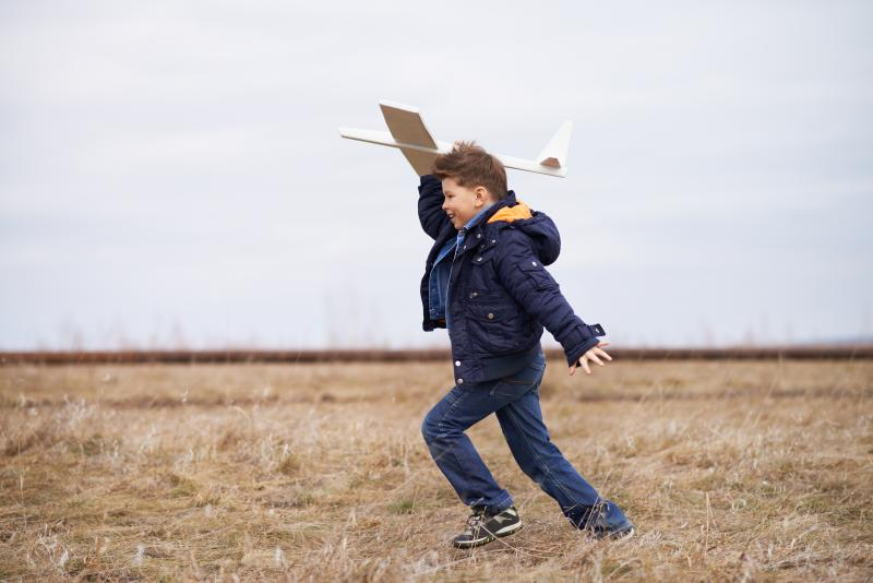 Flying a Toy Plane