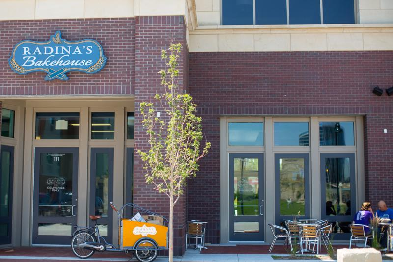 Radinas at Blue Earth Plaza Coffee Outdoor Seating Patio Seating