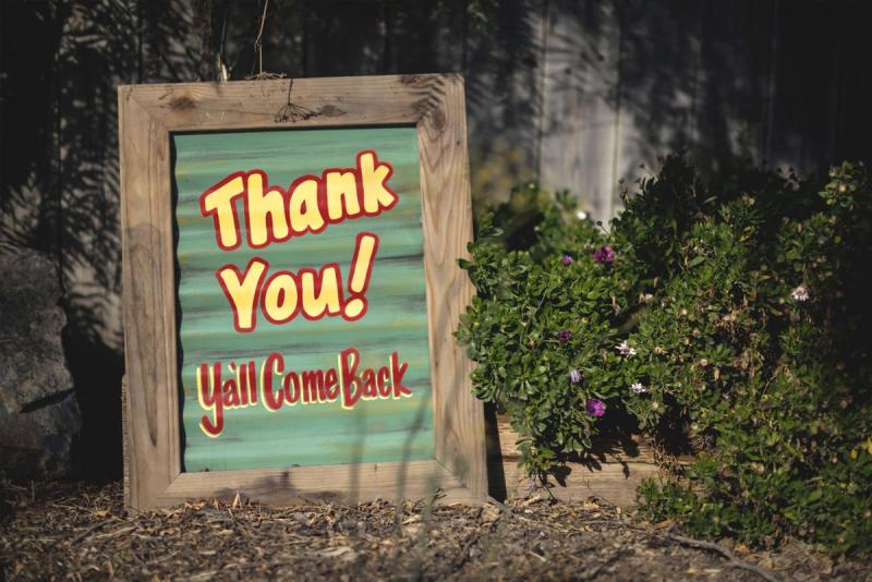 Thank you! Ya'll come back