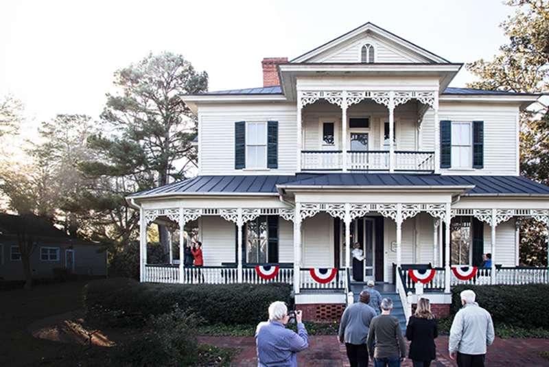 Group Tours - Poe House - Horizontal