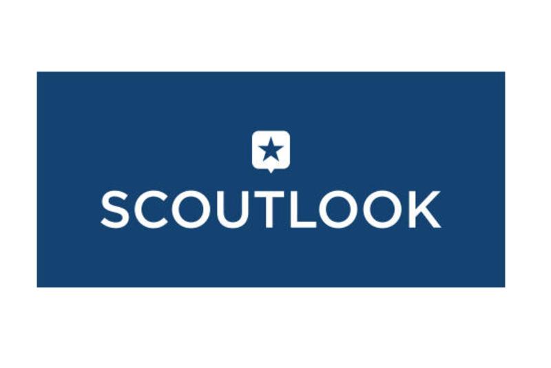 Scoutlook Logo-Blue Vertical Reverse