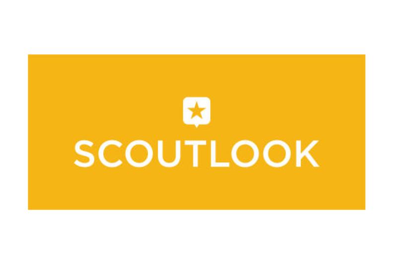 Scoutlook Logo-Yellow Vertical Reverse