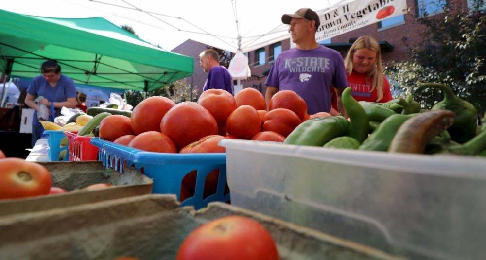 Fresh Produce at Old Town Farmers Market