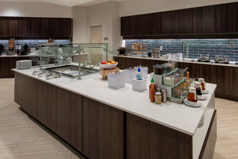 Complimentary breakfast from Springhill Suites by Marriott