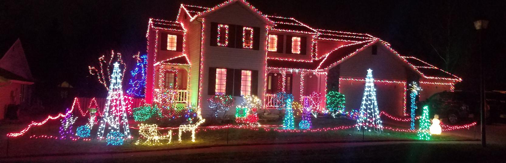 Christmas Light Displays.Best Fort Wayne Christmas Light Displays