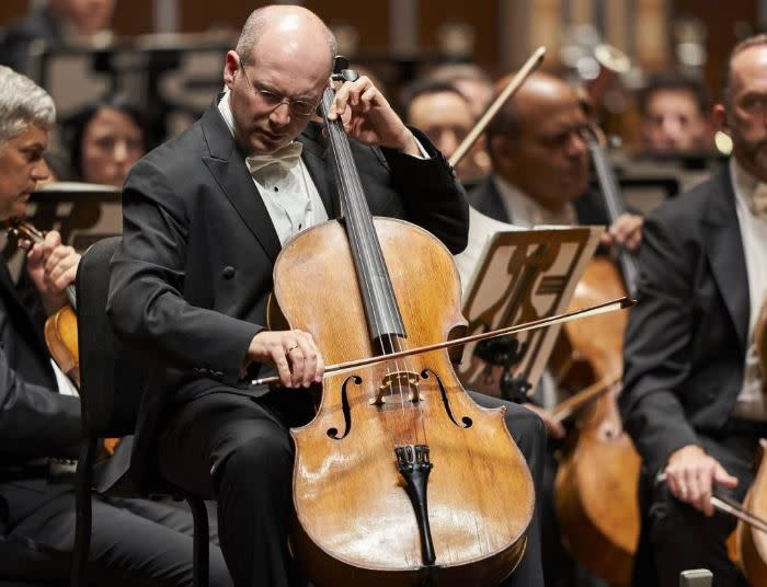 Westmoreland Symphony Orchestra cellist