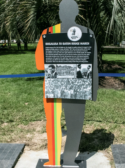 Bogalusa to Baton Rouge March Marker