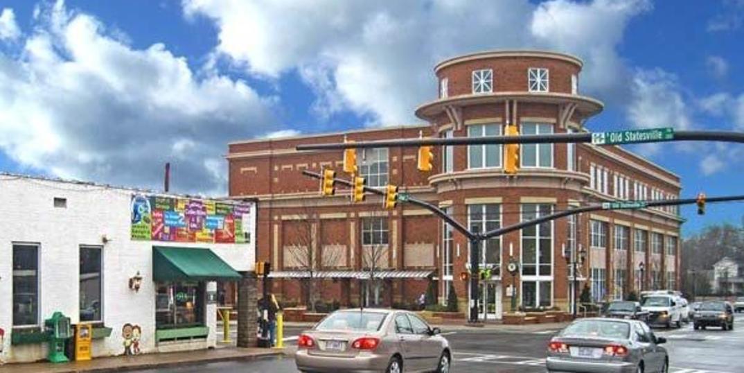 Street Corner In Huntersville, NC
