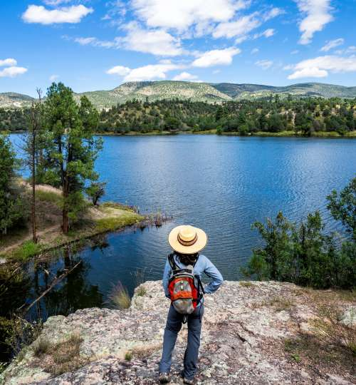 Lake Roberts in Grant County, New Mexico
