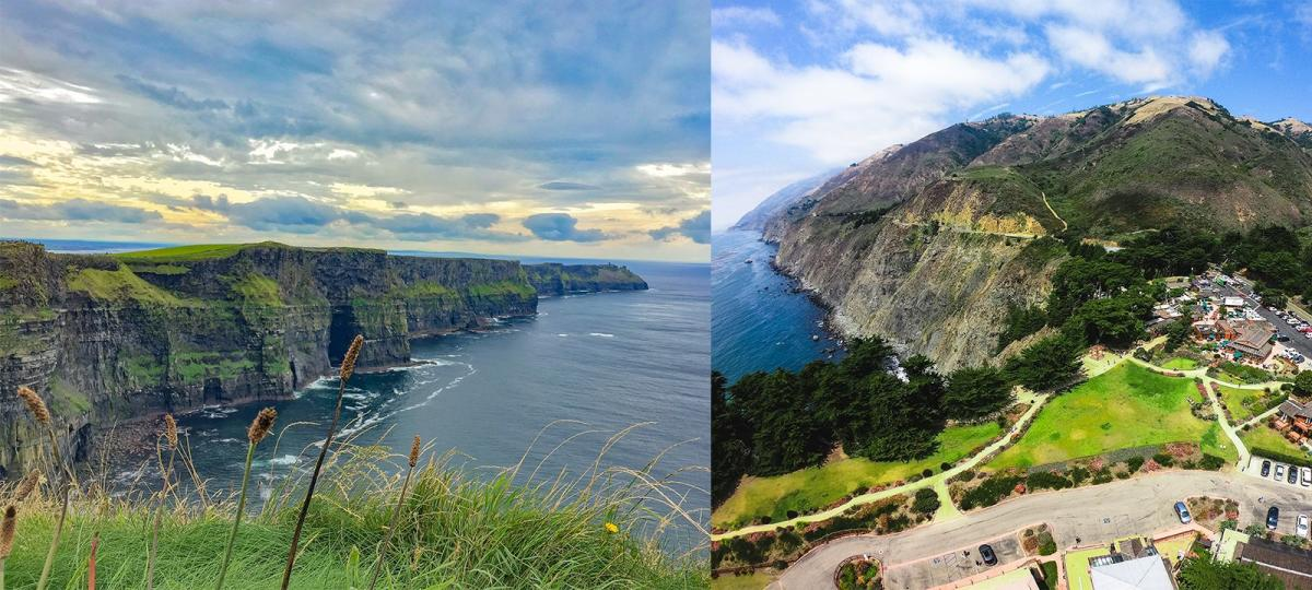 Ragged point vs Cliffs of Moher