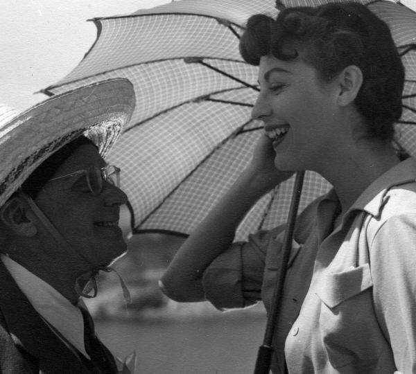 Ava Gardner and Albert Lewin