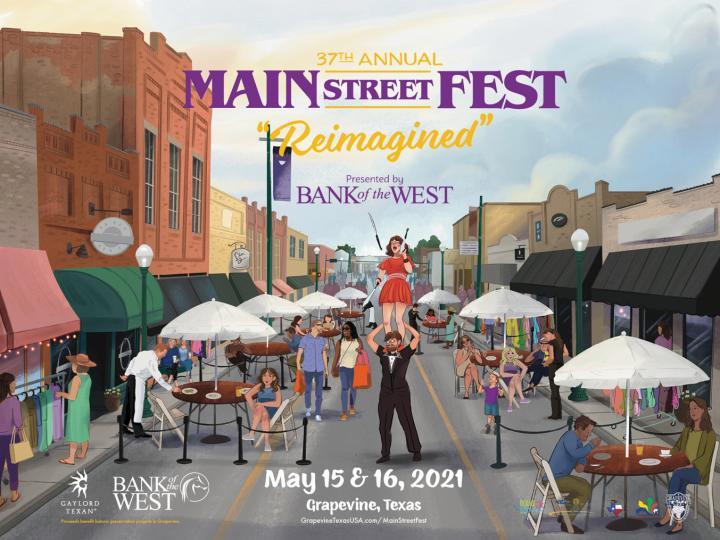 Main Street Fest Poster