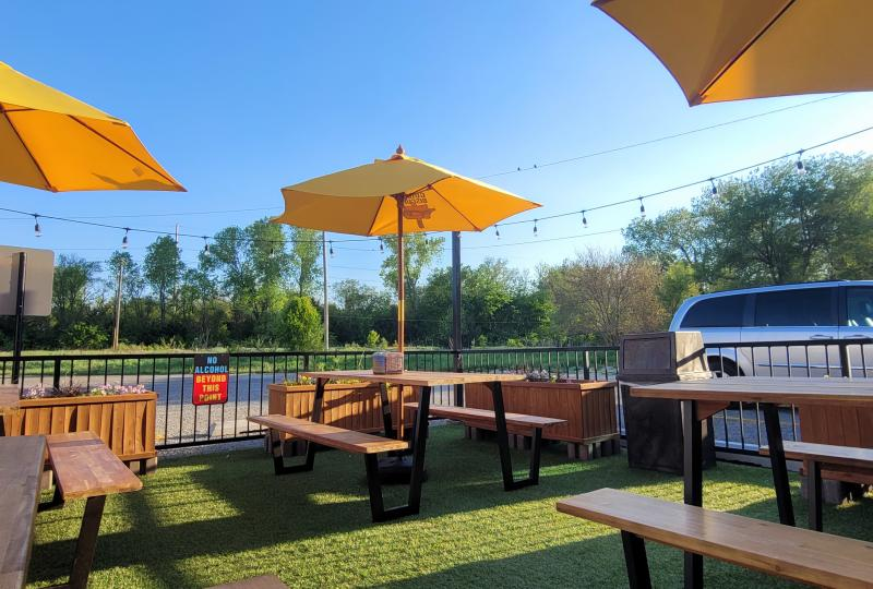 Guilty Biscuit Patio Seating Outdoor Dining