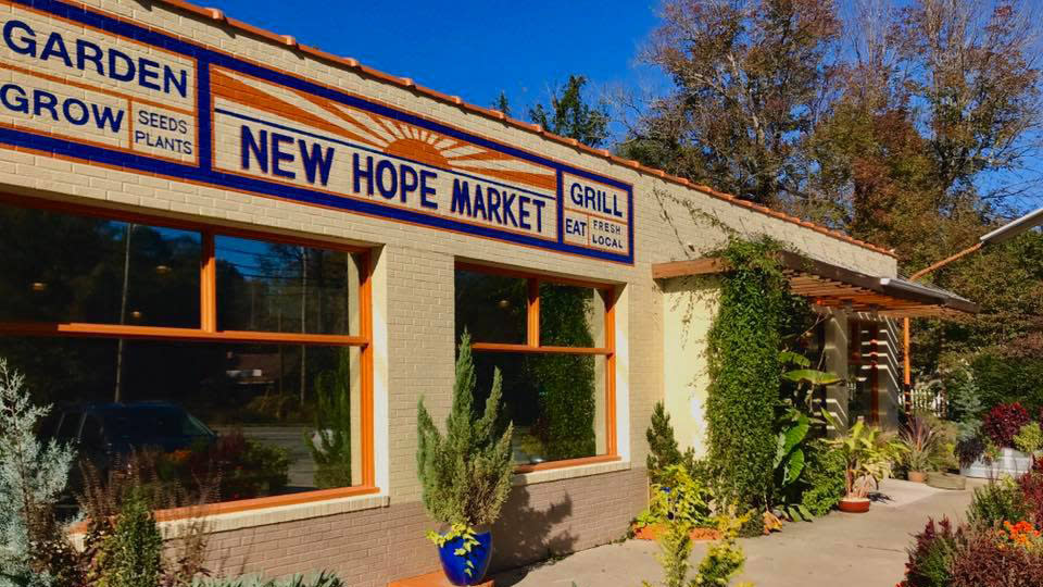 New Hope Market Outside View