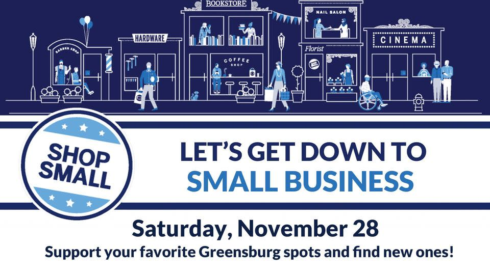 Small Business Saturday Downtown Greensburg