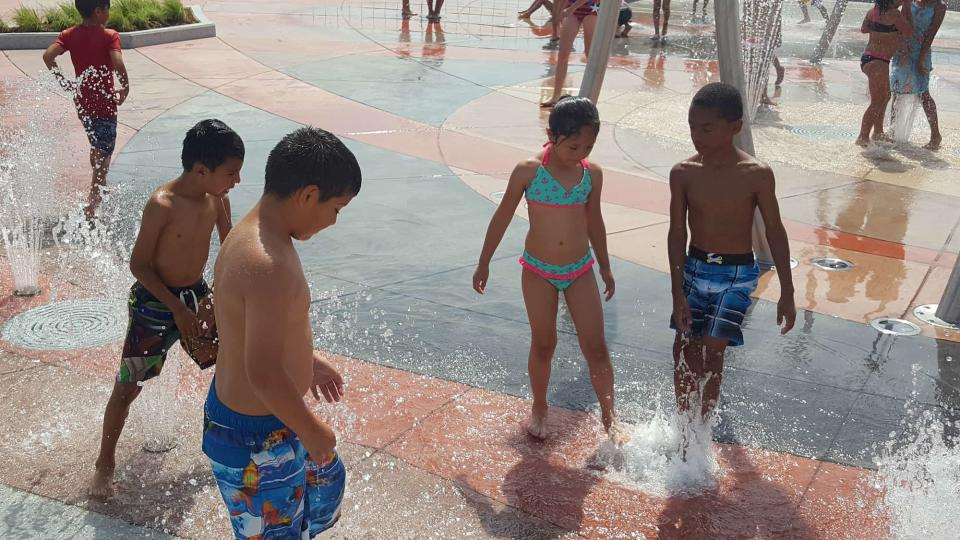 Buffalo Park Splash Pad