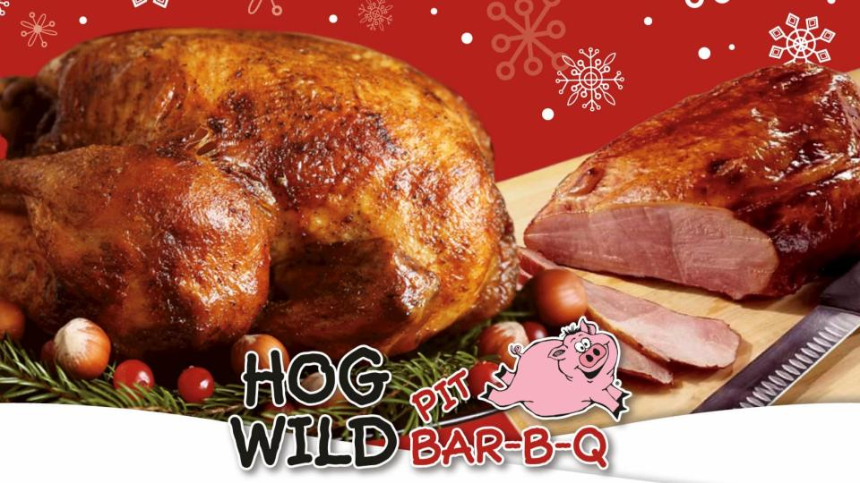 Christmas Meal at Hog Wild Pit BBQ