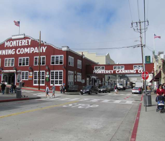 Cannery Row Then And Now