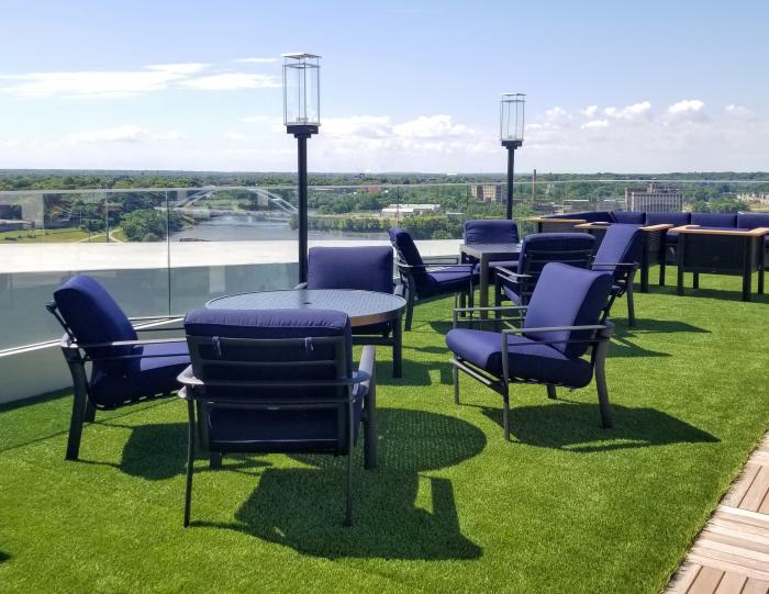 Embassy Suites deck