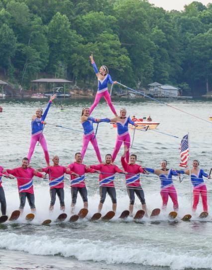 Carolina Waterski team