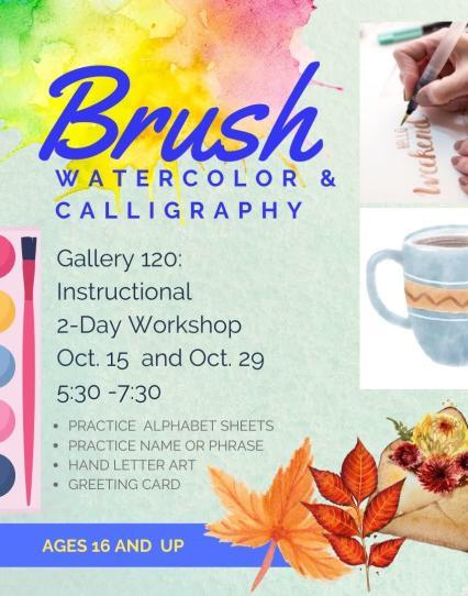 Brush Watercolor & calligraphy