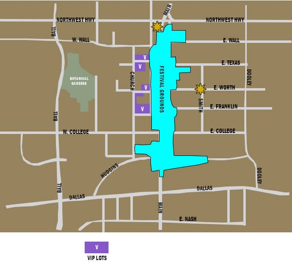 VIP Parking Map