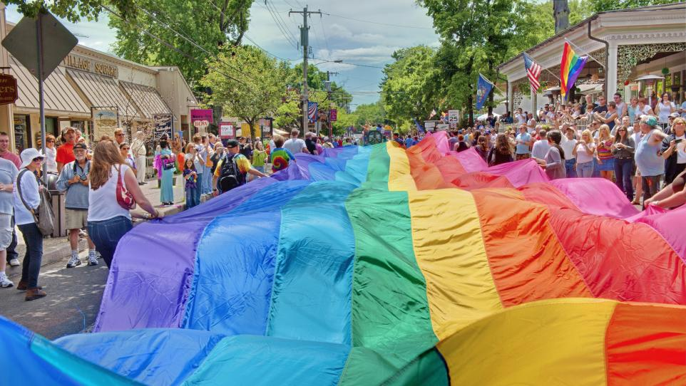 Pride Festival in Bucks County Pennsylvania