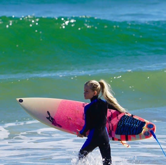 Girl Surfer CR Rights Approved