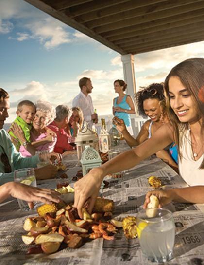 Restaurants at The Beach