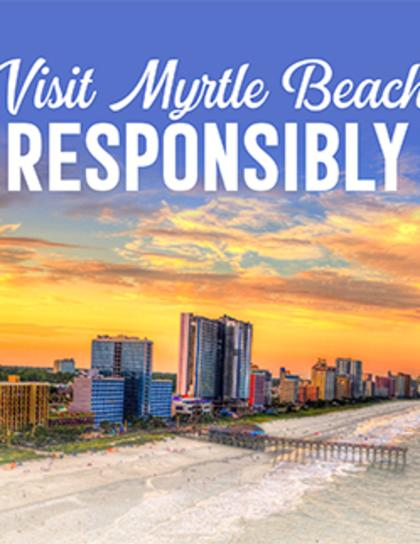Visit Myrtle Beach Responsibly flyer