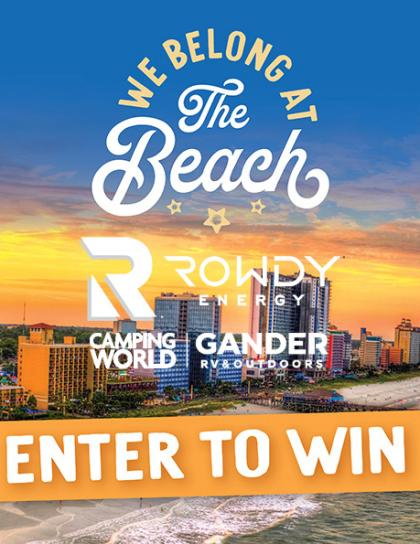 Enter to WIN a 3 Day, 2 Night Myrtle Beach Getaway