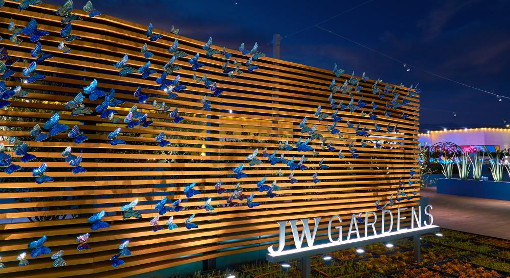Garden at the JW Marriott, Anaheim Resort