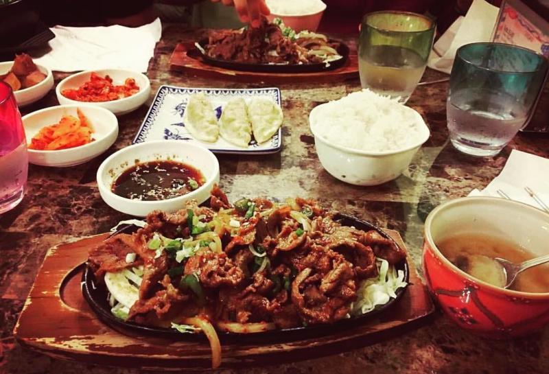 Various dishes from Korea Restaurant