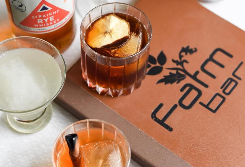 Three fall-flavored cocktails from Cardinal Spirits