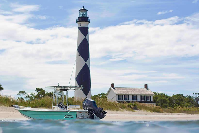 Boat & Lighthouse
