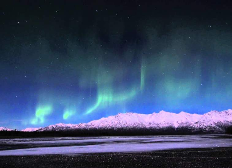 Northern Lights in the Mat-Su Valley