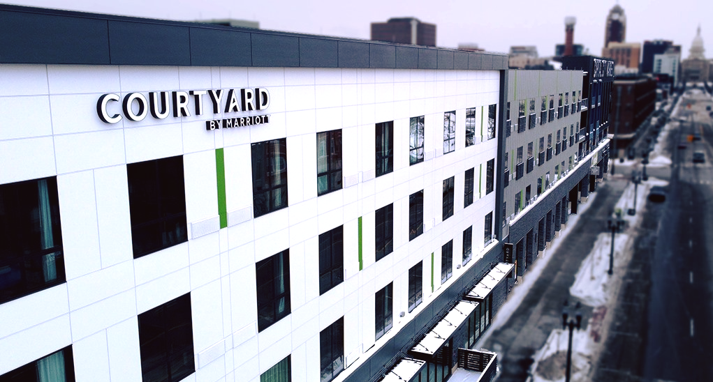 Courtyard By Marriott - Downtown Lansing
