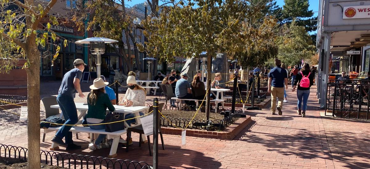Pearl Street Outdoor Dining