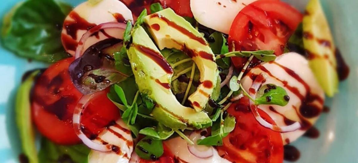 Fresh salad at Terra Organics