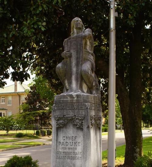 Chief Paduke Statue