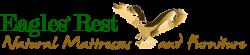 eagles rest natural home logo