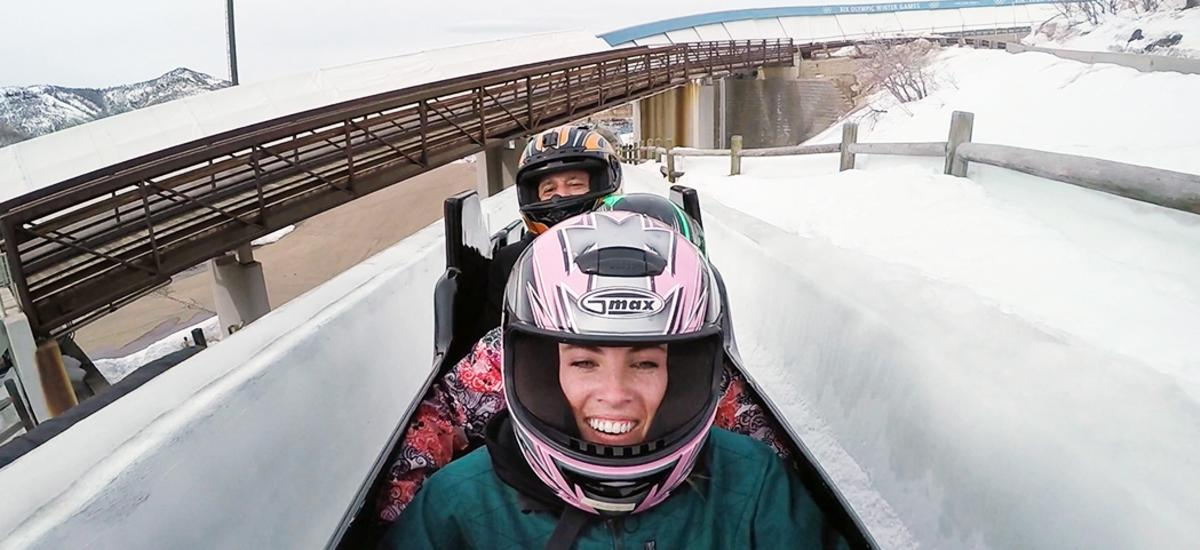 Bobsled First Timers