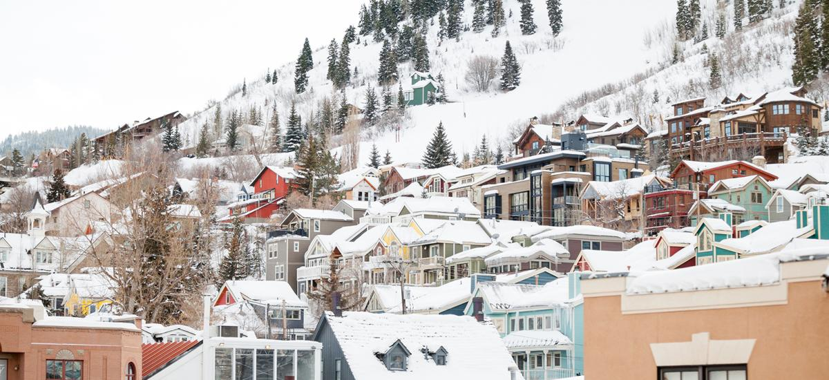 Old Town in Park City, Utah