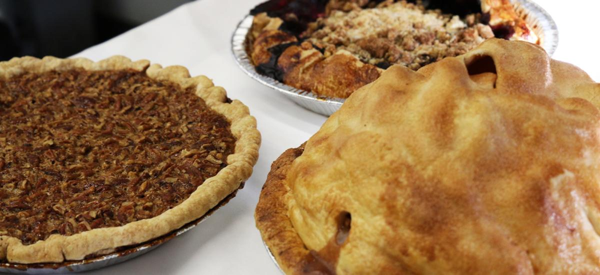 Thanksgiving Pies from Windy Ridge Bakery