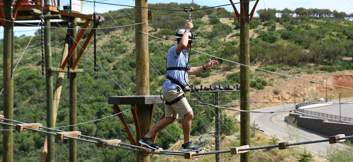 Summit Adventure Course at Utah Olympic Park