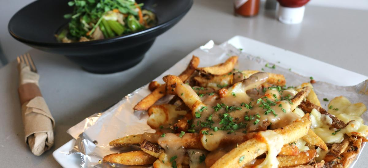 Poutine at Riverhorse Provisions
